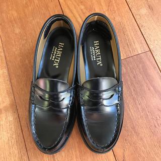 ハルタ(HARUTA)のHALUTA ローファー 黒(ローファー/革靴)