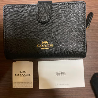 COACH - コーチアウトレット コンパクト折り財布
