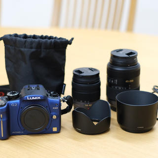 Panasonic - パナソニック デジタル一眼カメラ LUMIX G2 DMC-G2 ダブルズーム