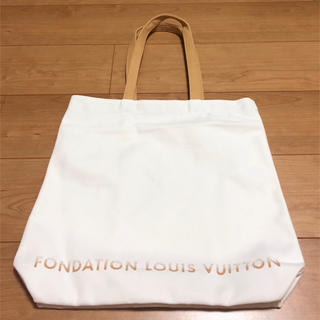LOUIS VUITTON - パリ限定 フォンダシオン ルイヴィトン トートバッグ 白 ルイヴィトン美術館