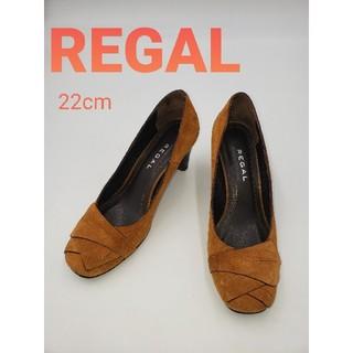 REGAL - REGAL リーガル スウェードパンプス