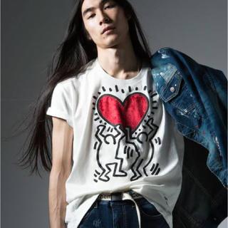 グラム(glamb)のglamd Keith Haring CS〈キースヘリングカットソー〉(Tシャツ/カットソー(半袖/袖なし))