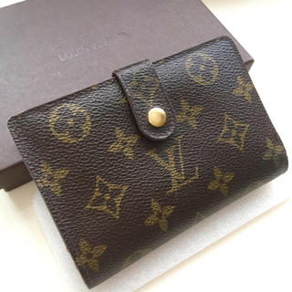 LOUIS VUITTON - 正規品ルイヴィトンガマ口折財布