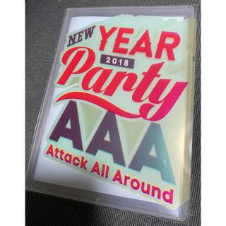 AAA - AAA/AAA NEW YEAR PARTY 2018 DVD
