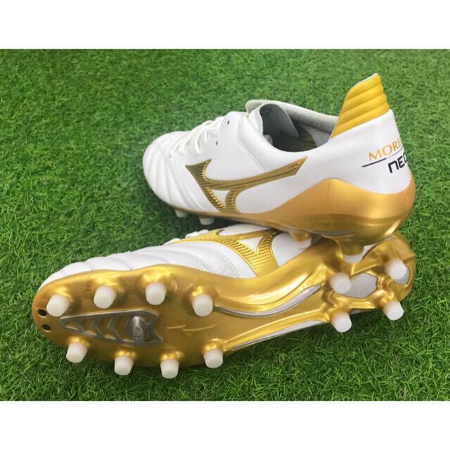 MIZUNO(ミズノ)の限定カラー!ミズノ モレリア ネオ 2 日本製 新品 未使用 各サイズ有ります! スポーツ/アウトドアのサッカー/フットサル(シューズ)の商品写真