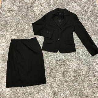 RU - 黒リクルートスーツ シャツセット スーツセット
