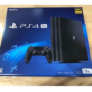 PlayStation4 - ps4 pro ジェット・ブラック 1TB CUH-7200 プレステ4