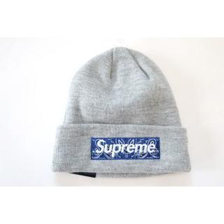 シュプリーム(Supreme)のSupreme New Era Box Logo Beanie(ニット帽/ビーニー)
