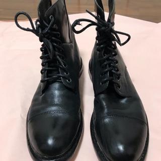 アルフレッドバニスター(alfredoBANNISTER)のアルフレッド・バニスター / レザーブーツ / 黒 ブラック(ブーツ)