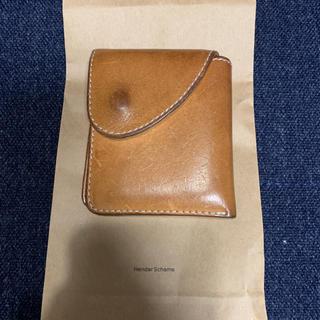 エンダースキーマ(Hender Scheme)のhenderscheme エンダースキーマ 2つ折り財布 ナチュラル(折り財布)