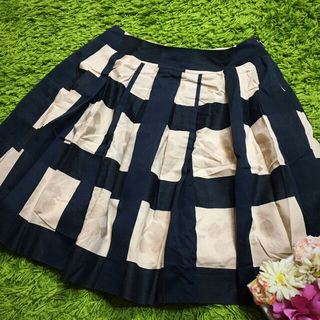 M'S GRACY - エムズグレイシー フラワープリント スカート