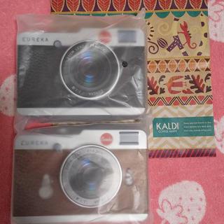 カルディ(KALDI)のカルディ カメラ缶 チョコレート チョコ(菓子/デザート)