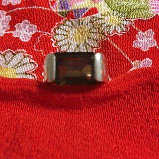 シルバー製天然石ガーネットリング(リング(指輪))