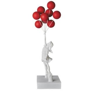 Flying Balloons Girl Red Balloons Ver.(彫刻/オブジェ)