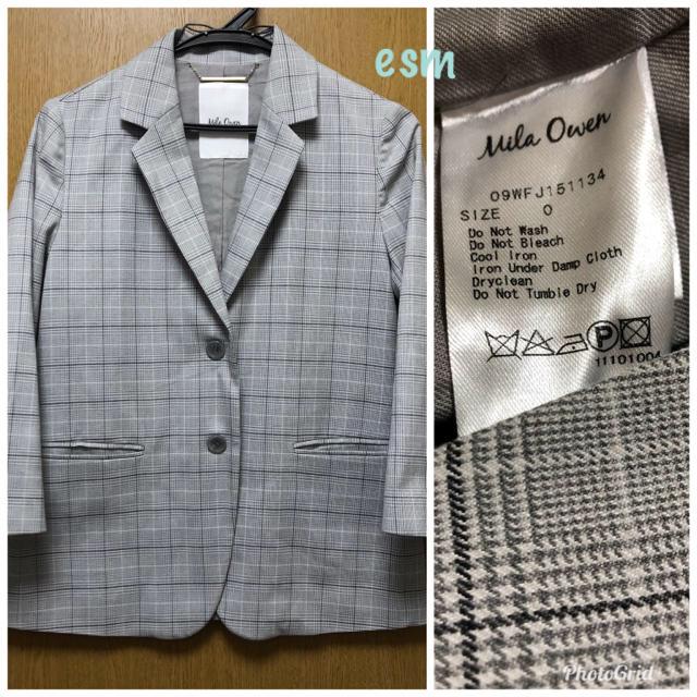 Mila Owen(ミラオーウェン)のMila owen☆ミラオーウェン☆ジャケット、パンツセットアップ レディースのジャケット/アウター(テーラードジャケット)の商品写真
