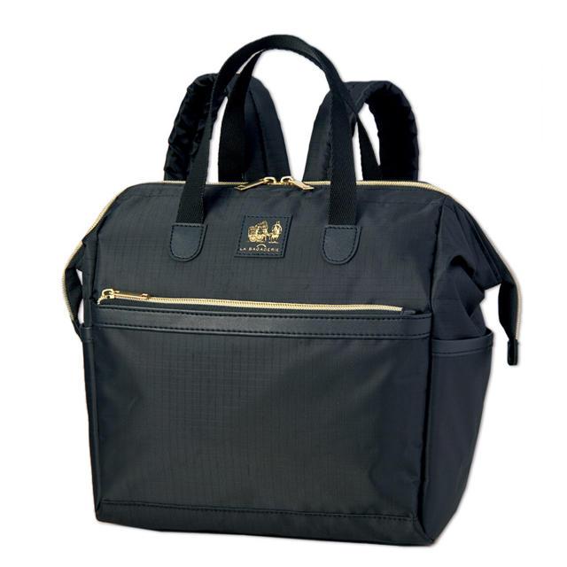 LA BAGAGERIE 撥水&軽量 大きく開く大人リュック レディースのバッグ(リュック/バックパック)の商品写真
