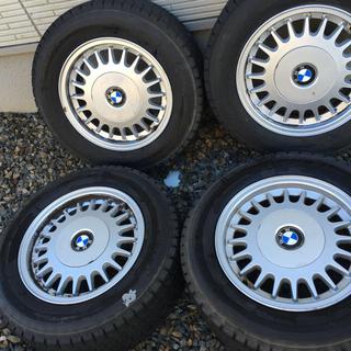 BMW E34 純正ホイール 15インチ スタッドレス