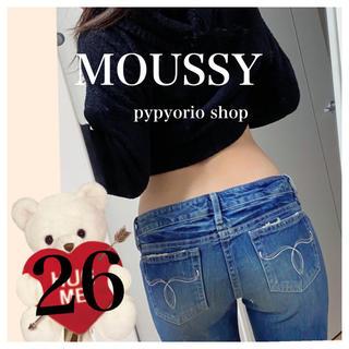 moussy - デニムazul edwin ungrid ロデオ スライ ディーゼル系