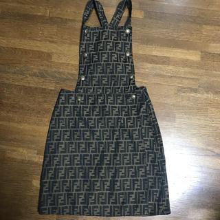 FENDI - FENDI スカート  サロペット