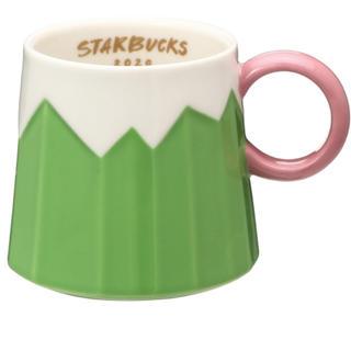 Starbucks Coffee - 完売品★スターバックス マグ富士山296ml 縁起物