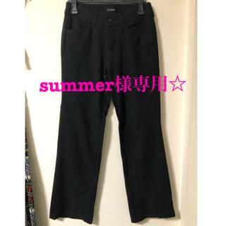 アールユー(RU)の黒パンツ(ruジーンズ) Mサイズ(カジュアルパンツ)