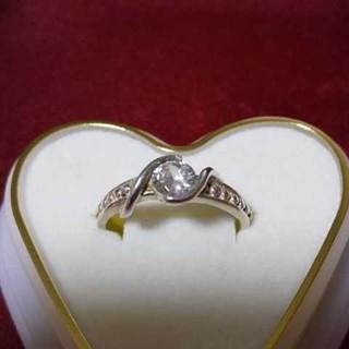 リング シルバー 925 キュービック ジルコニア(リング(指輪))