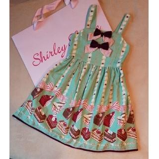 Shirley Temple - 120 シャーリーテンプル ケーキ ジャンスカ ワンピース