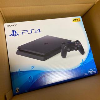 PlayStation4 - PlayStation 4 ジェット・ブラック 500GB 美品❗️