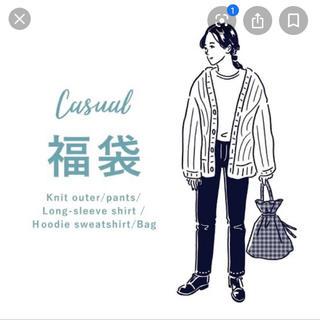 Kastane - 【美品】2018年福袋 ニットカーディガン ホワイト