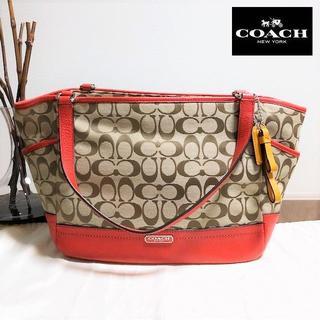 COACH - 送料無料 セール品 コーチ トートバッグ レザー 大きめ F23297 M022