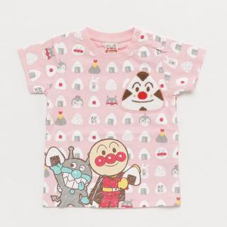 アンパンマン - 新品✨アンパンマン  おむすびまん 刺繍 Tシャツ
