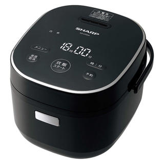 SHARP - シャープ パン調理機能付 ジャー炊飯器 3合炊き ブラック KS-CF05A-B
