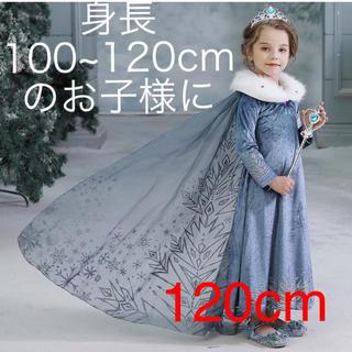 120cm アナと雪の女王 コスプレ エルサ プリンセス アナ雪