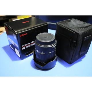 SIGMA - SIGMA 17-50mm F2.8 EX DC OS キャノンEF-Sマウント