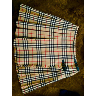 BURBERRY - バーバリー プリーツスカート