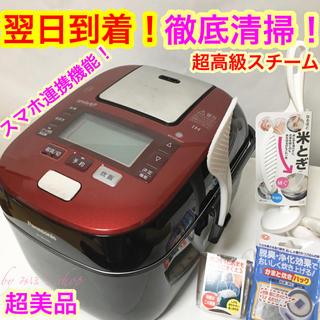 Panasonic - 説明書付き❗️値下げしました❗️ 冷めても美味しいパナソニック5合圧力IH炊飯器