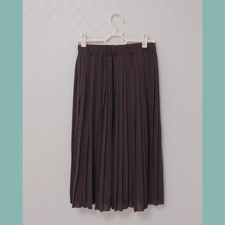 31 Sons de mode - 【31 sons de mode】ブラウンプリーツスカート