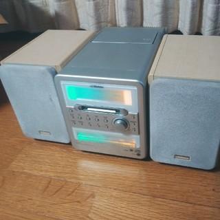 ビクター(Victor)のビクター MDLP内蔵MDマイクロコンポ UX-Q15-W(スピーカー)