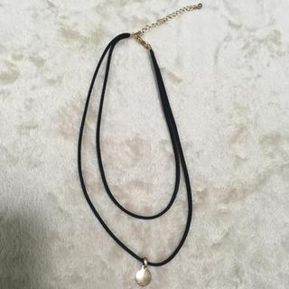 H&M - スエード2連ネックレス