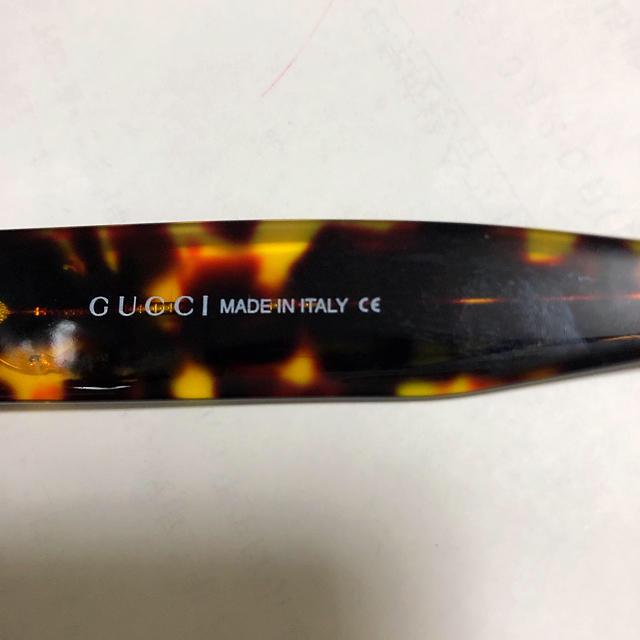 Gucci(グッチ)のイタリア製GUCCI サングラス 男女兼用 レディースのファッション小物(サングラス/メガネ)の商品写真