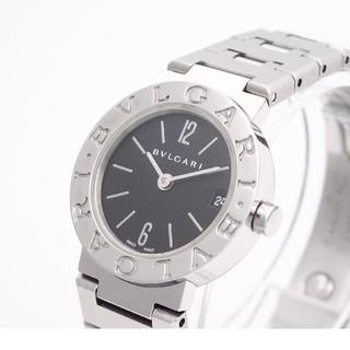 BVLGARI - 【BVLGARI】ブルガリ腕時計 'BB23SS' ☆ロゴ有り後期モデル☆