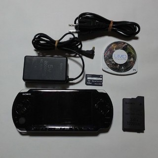 PlayStation Portable - PSP-3000(黒)すぐ遊べるセット(管02)