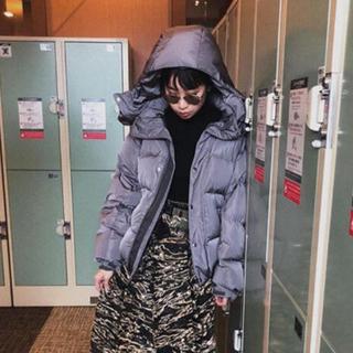 ALEXIA STAM - ジュエミ ダウン グレー 美品☆