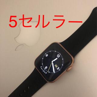 アップルウォッチ(Apple Watch)のアップウォッチ5(腕時計(デジタル))