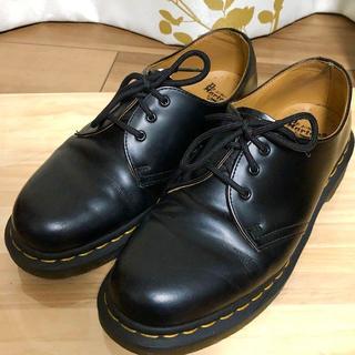 ドクターマーチン(Dr.Martens)のドクターマーチン ブラック 3ホール UK6 1461(ローファー/革靴)