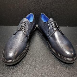 ブレコス(Brecos)イタリア製革靴 青 42.5