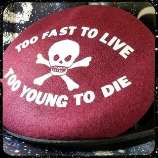 Vivienne Westwood - 新品・Worlds end限定・T.F.T.L・ベレー帽