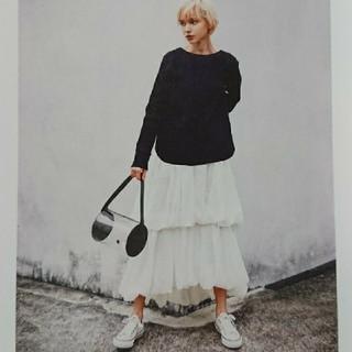ENFOLD - 雑誌掲載♡2019SS ナゴンスタンス バルーンスカート ホワイト 38