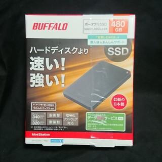 Buffalo - PS4対応 ポータブルSSD 480GB