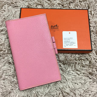 Hermes - HERMES ヴィジョンII 極美品 アジェンダ 手帳カバー ピンク